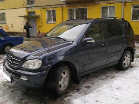 Продажа  Mercedes-Benz ML 400 дизель турбонадув, 2002 г. , Саратов